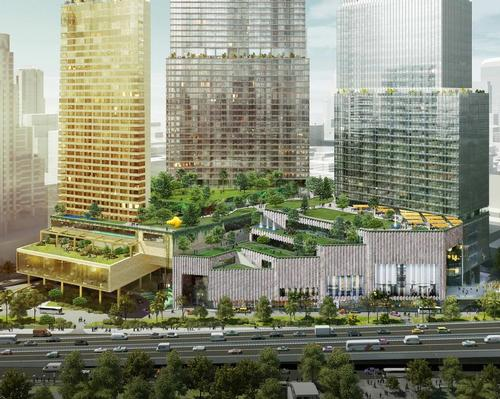 The 440,000 sq m destination will include a park, resort, mall, and multiple dining outlets. / Dusit International