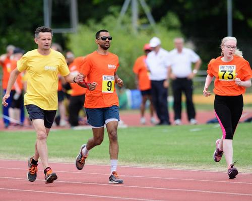Elevate signs up Metro Blind Sport as charity partner to promote inclusivity