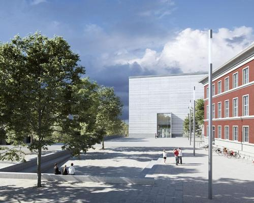 The €27m (US$30.3m, £23.3m) Bauhaus Museum, designed by German architect Heike Hanada, is true to form in its minimalist appearance