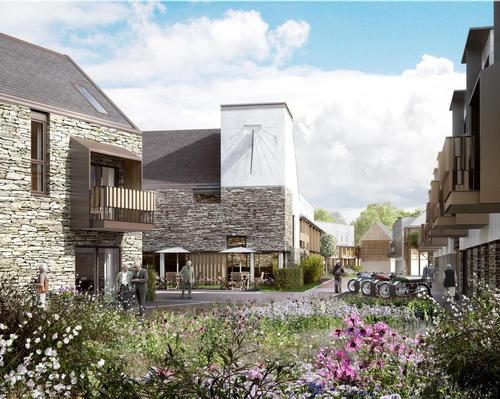 The Proctor and Matthews-designed development is inspired by the close-knit communities of ancient England. / Courtesy of PegasusLife/Proctor and Matthews Architects
