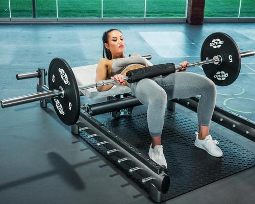 gym80's Glutebuilder is a multifunctional machine designed to provide a hassle-free way to perform effective free weight glute exercises.