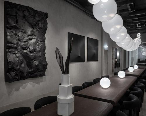 Tom Dixon rolls out monastic-like restaurant and showroom in Milan