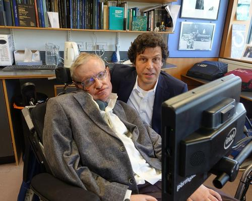 Stephen Hawking and Anthony Geffen worked closely on a VR journey around the universe