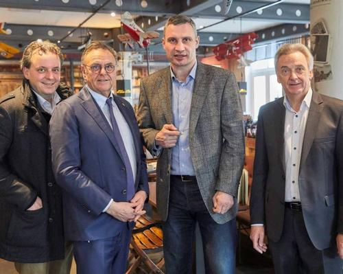 Klitschko, who was joined by other city officials, discussed the potential park with Europa-Park bosses as he is a regular visitor at the German park and a big admirer of it