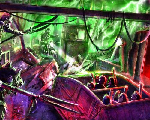 Road Rage will be the first attraction to combine a thrilling stunt show with a dark ride