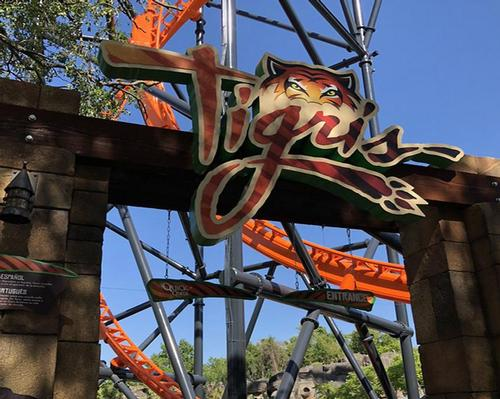 The ride is now the ninth roller coaster at Busch Gardens