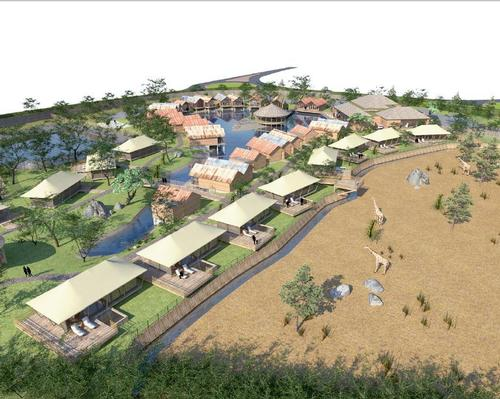 Chester Zoo's new Grasslands area to feature overnight lodgings for visitors