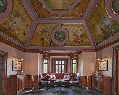 17th Century, Grade 1 listed frescoes have been restored