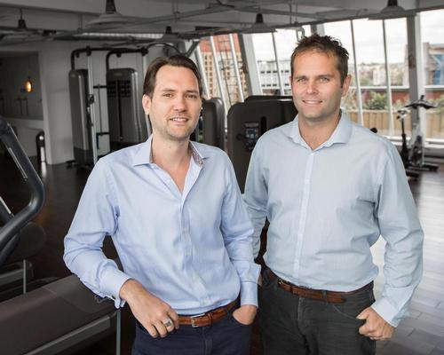 Jamie Ward (left) and Neil Harmsworth launched PayAsUGym in 2011