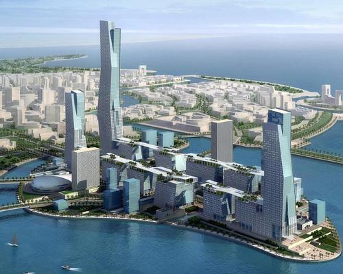 The US$500bn project will be funded by the government and has a total area of 26,500sq km