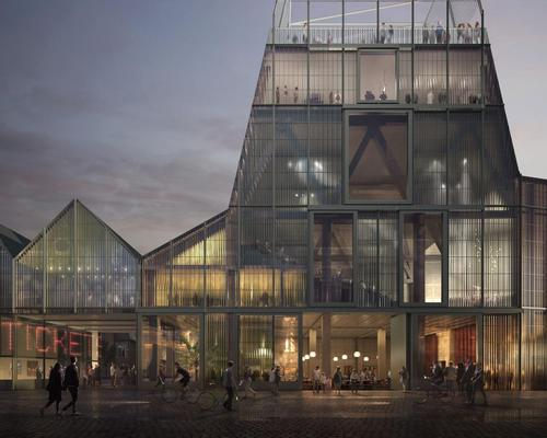 The 10,000 sq m complex is expected to serve as the