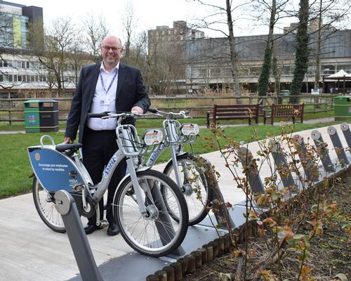 Len Richards, CEO of Cardiff and Vale University Health Board said the scheme will be delivered in partnership with public bike-sharing system Nextbike