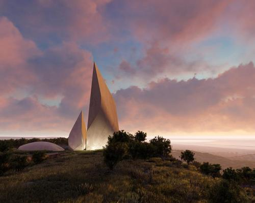 Libeskind told <i>CLAD</i> that the museum's exhibits would take visitors on a pilgrimage-like journey through human history. / Courtesy of Studio Libeskind