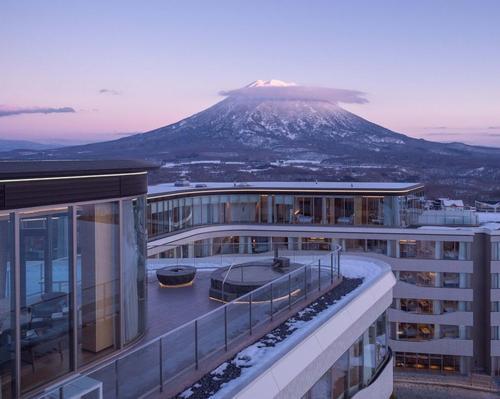 Skye Niseko provides unobstructed views of Mount Yotei. / Courtesy of Skye Niseko