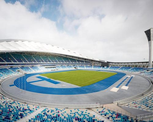 The facility is Hainan's first major sports venue.