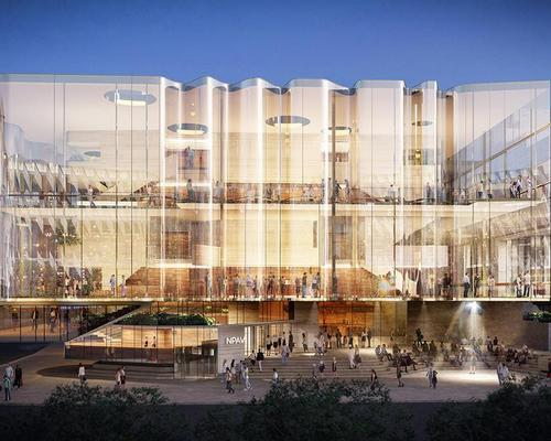 The project is said to be the largest investment in Queensland's arts infrastructure since the Gallery of Modern Art.