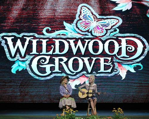 Country singer Dolly Parton's latest vision for her Dollywood theme park has been brought to life