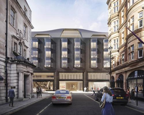 The estimated £500m project is being developed by O&H Properties. / Courtesy of Foster + Partners