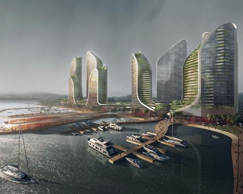 Koichi Takada's seafront residences to take inspiration from Indonesia's diverse landscapes
