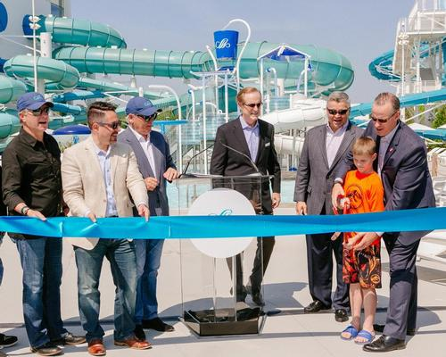 The opening marks the completion of the waterpark expansion following the launch last year of the indoor section of the development