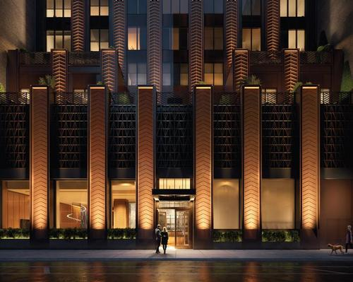 First look at Rockefeller Group's Art-Deco-inspired residences in Manhattan