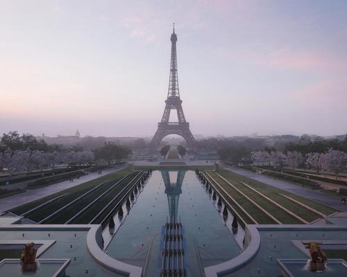 The mayor of Paris, Anne Hidalgo, called Gustafson Porter + Bowman's design concept for the park / Courtesy of Gustafson Porter + Bowman