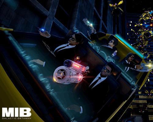 VRStudios creates Men in Black VR attraction for Dave & Buster's