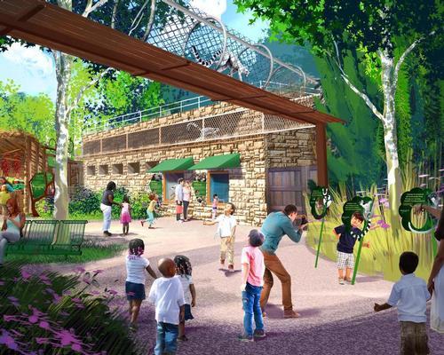 US$11.5m expansion for St Louis Zoo's primate habitats