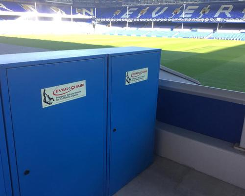 Goodison Park undergoes major revamp to become ASG compliant