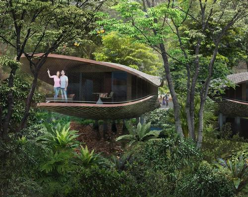 The future 4.6-hectare resort will be located a stone's throw from the Singapore Zoo.
