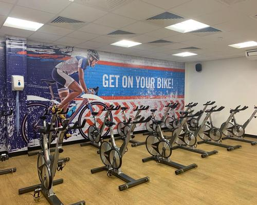 A cycling studio has been kitted out with Keiser M3 bikes