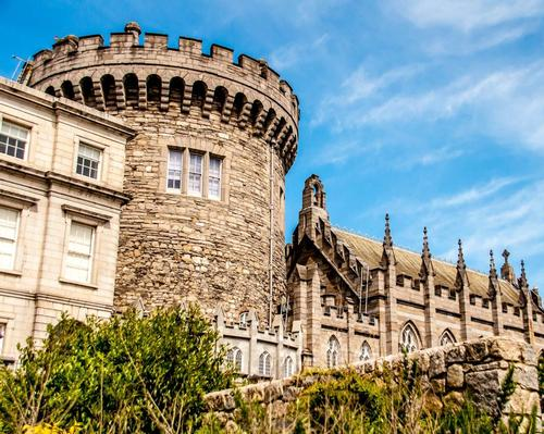 Dublin Castle is part of Ireland's growing tourism industry