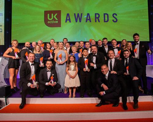 The winners of the awards on stage during the ceremony, which was attended by more than 800 guest