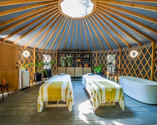 For couples seeking an indigenous experience, the spa has introduced 'Yurt Spa Experiences' – customisable treatments including clay painting