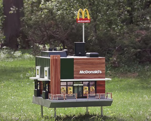 McDonald's Sweden created the McHive to celebrate the company's commitment to bee conservation
