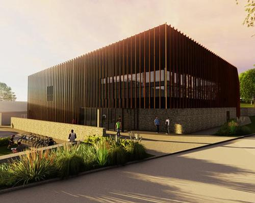 The complex includes a health club and will be an integral part of Alderley Park – a large science and technology park