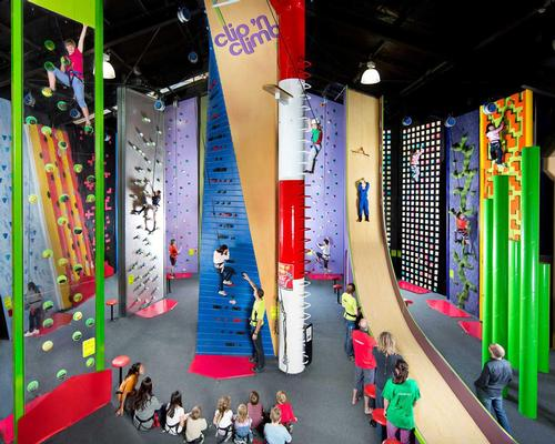 IAE: Clip 'N Climb exhibiting new climbing challenges