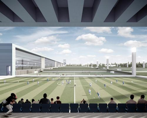 Cruz y Ortiz Arquitectos to help revitalise Chinese football with sprawling 'sports city'
