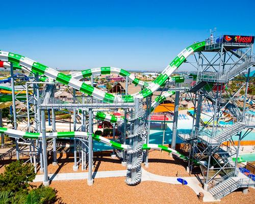 Schlitterbahn Waterpark Galveston has the world's tallest water-coaster