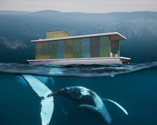 Max Zhivov reveals concept for waterborne eco-hotel