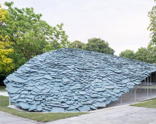 Ishigami said he wanted the sculpture to have a 'natural and organic feel' / Iwan Baan