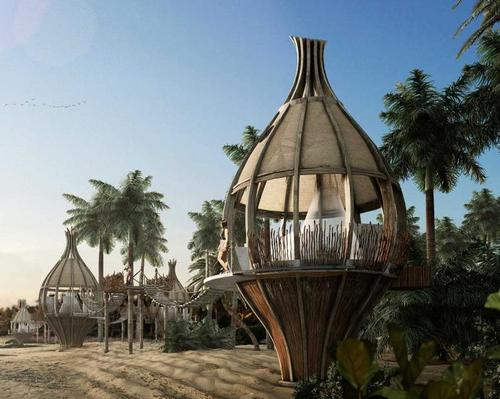 Guests to sleep in 'Human Cocoons' at upcoming Mexican resort dedicated to the search for happiness