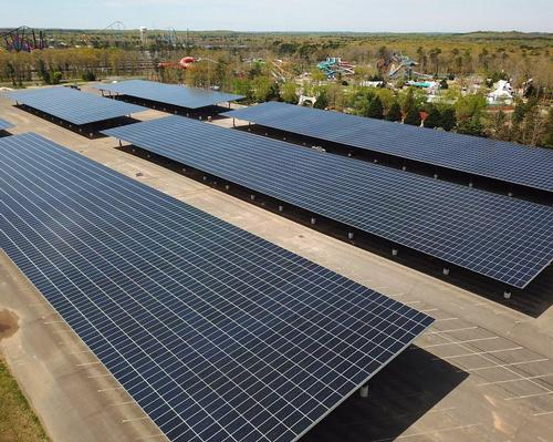 Solar power project makes Six Flags Great Adventure almost zero-carbon