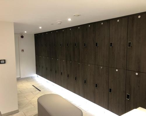 Crown overhaul changing rooms at Saunton Sands spa