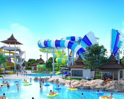 Angkor Water Park will have rides supplied by WhiteWater