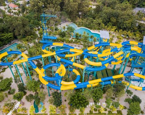 The Escape Theme Park in Penang already has a 300m-long water slide