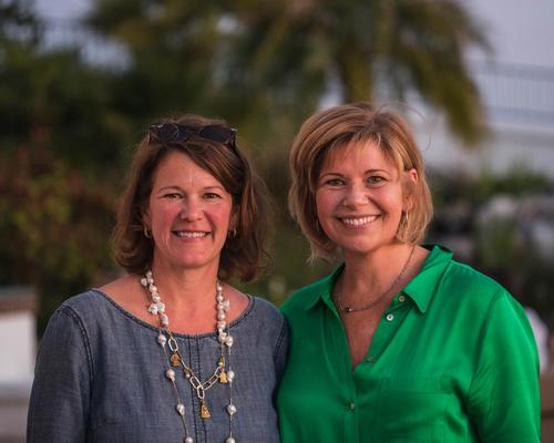 Joanna Roche (left) and Bonnie Baker (right) of the Green Spa Network