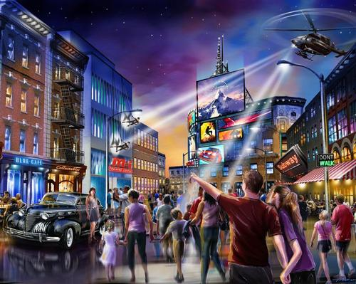 Paramount Pictures has entered into a new partnership with London Resort Company Holdings