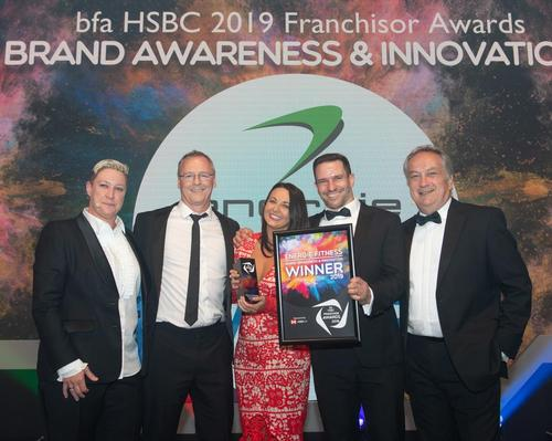 énergie Fitness wins franchising award