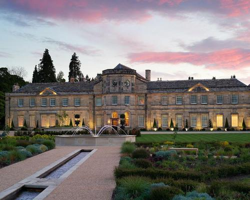 Grantley Hall wants to become one of Europe's top gym, spa, and wellness hotels